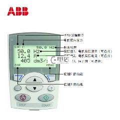 ABB 变频器附件,高级中文控制盘 Assistant Control Panel for Asia;ACS-CP-D